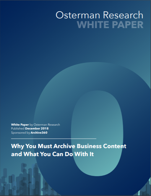 Osterman archive business content