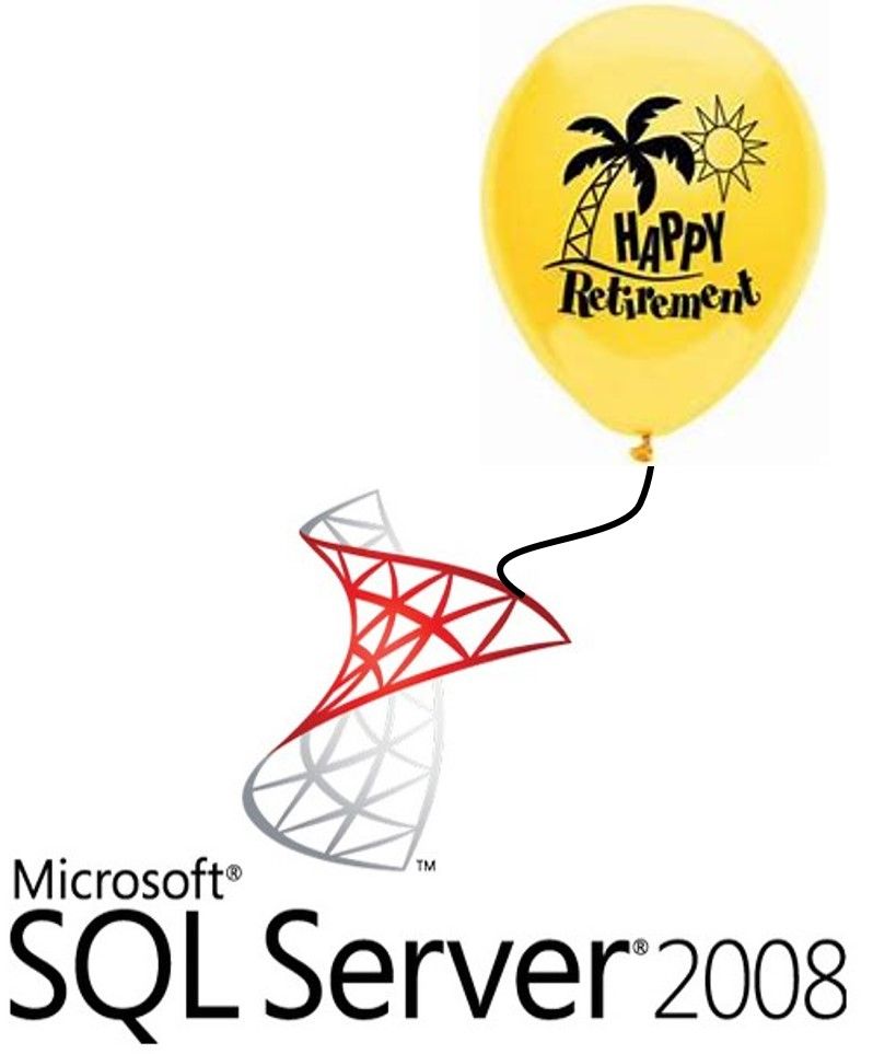 Application Retirement and the Sun-setting of SQL Server 2008
