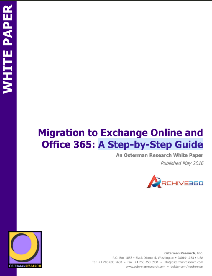 CoverMigrationToExchangeOnline