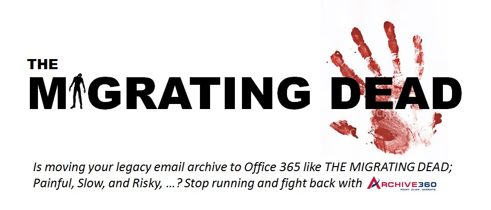 What do Email Archives and Zombies have in Common?
