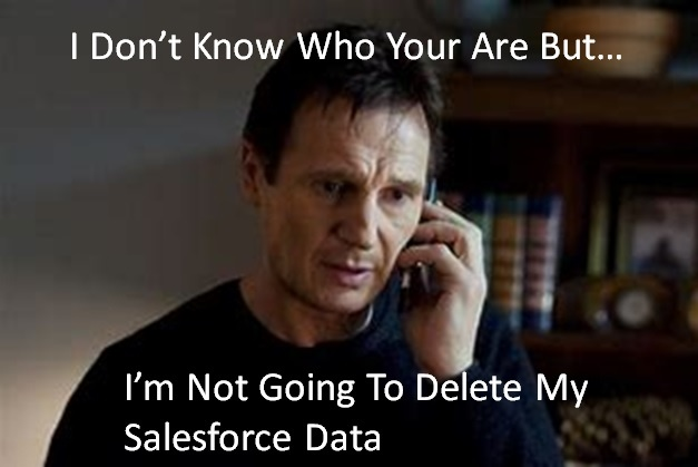 Salesforce Data, Archive or Delete?